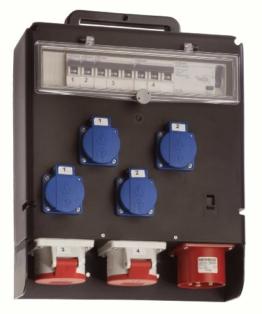 as - Schwabe Stromverteiler FIXO III für Baustellen