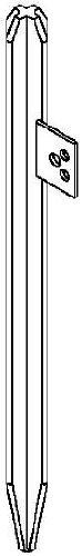 BETTERMANN Kreuzerder Erdungsspieß TFVZ 213 1500