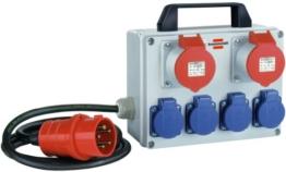 Brennenstuhl Kompakter Kleinstromverteiler BKV 2/4